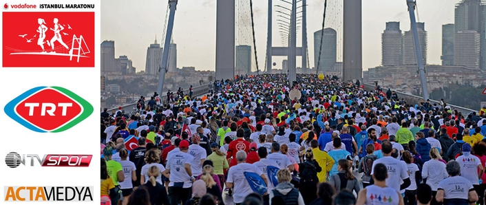 ACTAMEDYA PRODUCES 38TH INTERCONTINENTAL ISTANBUL MARATHON LIVE BROADCAST AGAIN