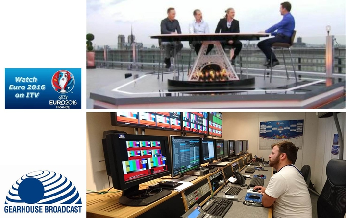 Gearhouse supplies unilateral facilities for ITV's EURO 2016 coverage
