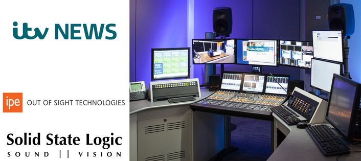 SSL C10 HELPS TO DRIVE CHANGE AT ITV NEWS