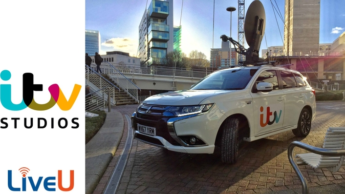 ITV Studios Deploys Hybrid OB Vehicles for Increased Efficiency Complete with Combined LiveU Ka-band/Cellular Bonding Technology