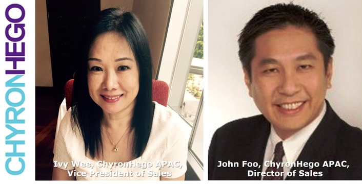 ChyronHego Fills Two Leadership Positions in Asia-Pacific Sales Organization