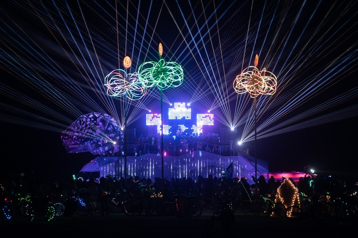 Art with a purpose. Sonic Design blends technology with art to create multi-sensory Art Car with environmental message