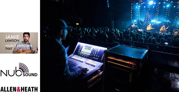 NUB SOUND TAKES DLIVE ON TOUR WITH JAMIE LAWSON