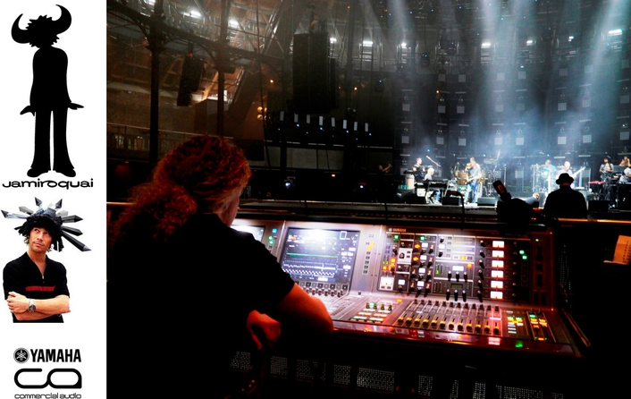 Yamaha RIVAGE PM10 Sees The World With Jamiroquai