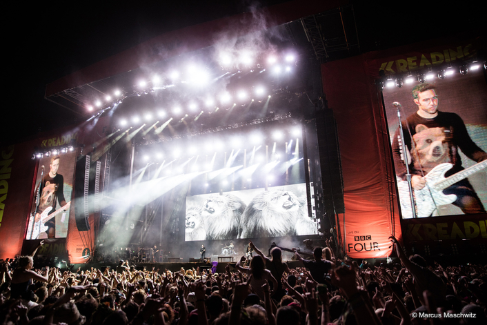 Top billing at Reading and Leeds for Fall Out Boy and Jands Vista