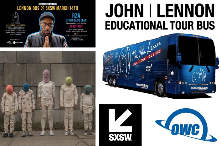 OWC Presents Music and Education Events With the John Lennon Educational Tour Bus During SXSW