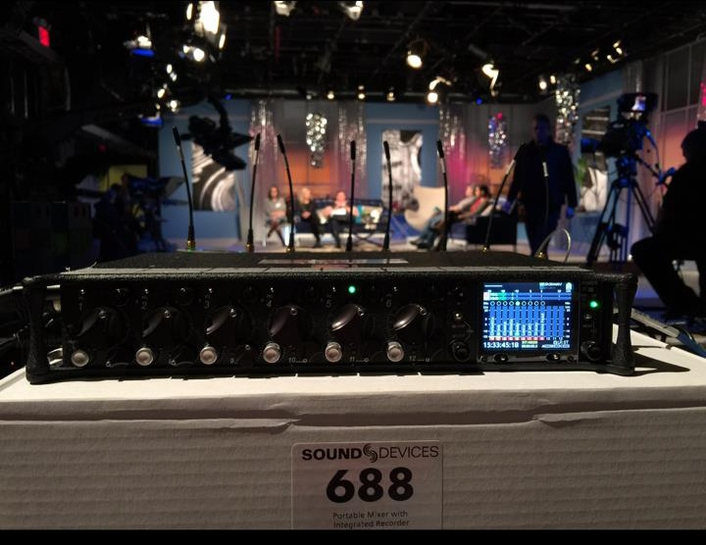 Joshua Baggett Relies on Sound Devices' 688/SL-6 Wireless Powering System for Clients' Audio Needs