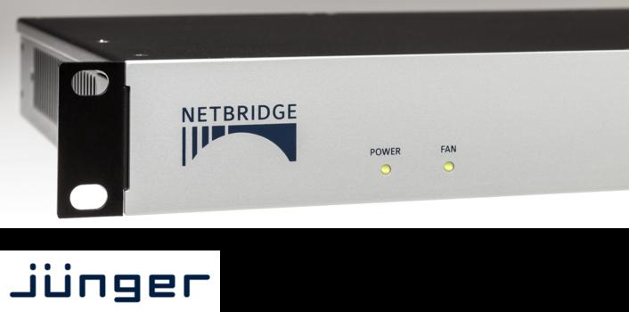 Jünger Audio Introduces Netbridge UHD