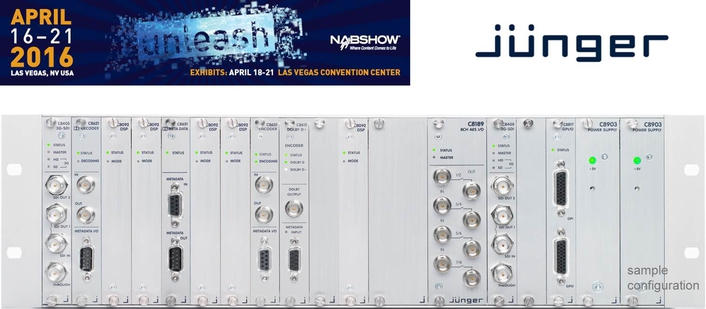 Jünger Audio Launches New C8000 Processing Boards at NAB 2016