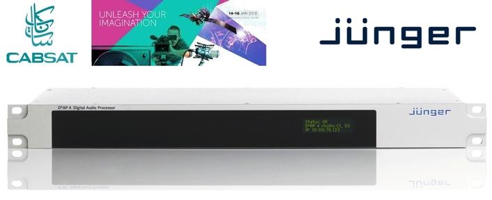 Jünger Audio Shows Its D*AP Audio Processors At CABSAT 2018