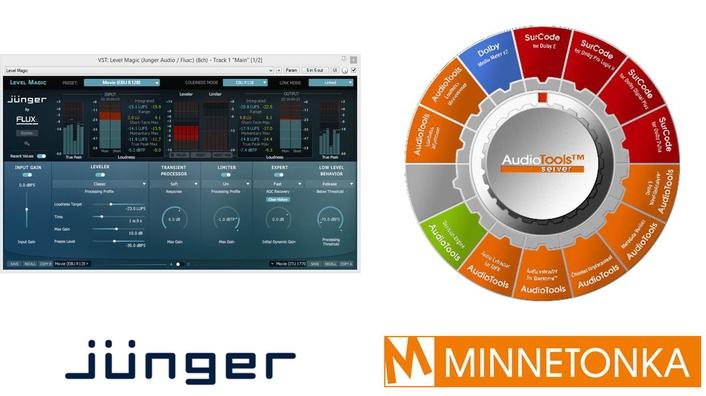 Jünger Audio Level Magic™ Available in Minnetonka Audio's AudioTools Server