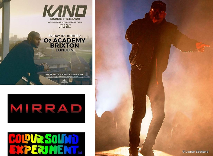 Colour Sound for Kano at Brixton Show