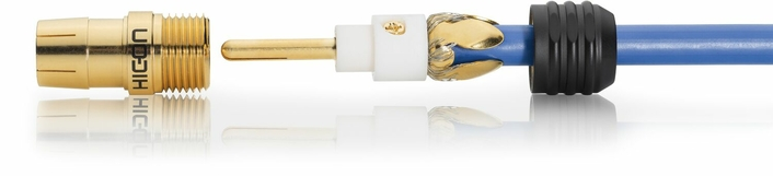 Solderless coax connectors from Sommer cable