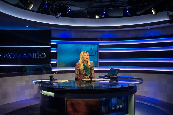 Elation Lighting System for New Kim Komando Show Studio