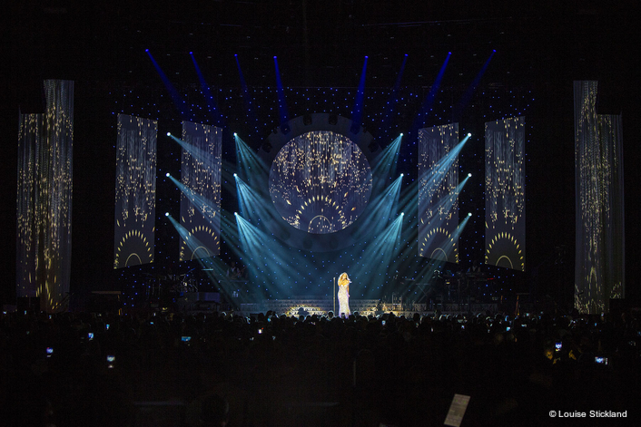 Kinesys for Mariah Carey Tour