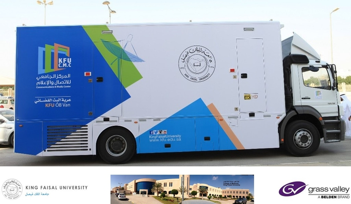 King Faisal University Outfits New OB Van with Solutions from Grass Valley