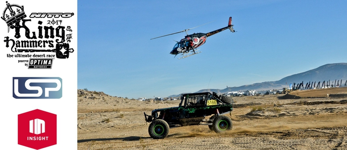 INSIGHT TV Goes Behind-the-Scenes at World's Toughest Desert Race in New Reality Show King of the Hammers