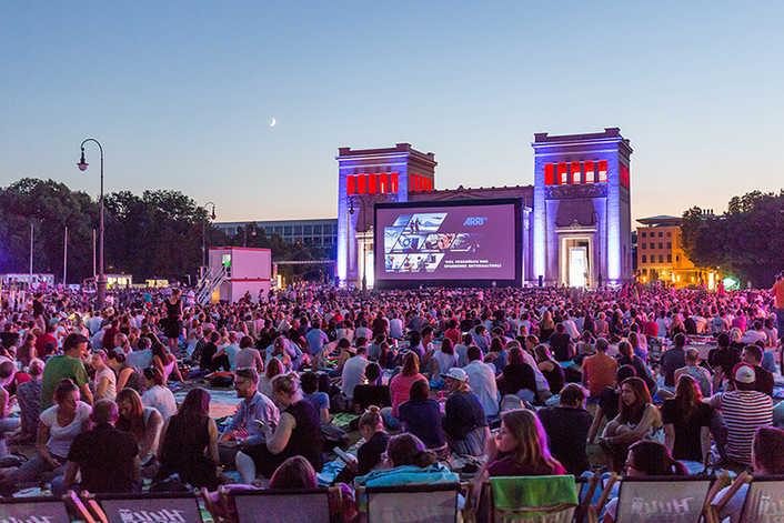 ARRI SkyPanels Cast a Spell on Munich's Königsplatz