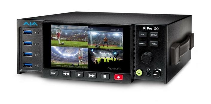 AJA Ships Ki Pro GO Multi-Channel H.264 Recorder/Player