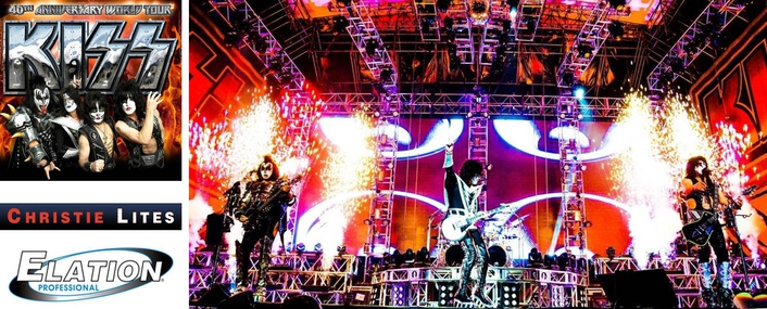 KISS kicking off its 40th Anniversary European Tour May 30th in Munich's Olympic Park