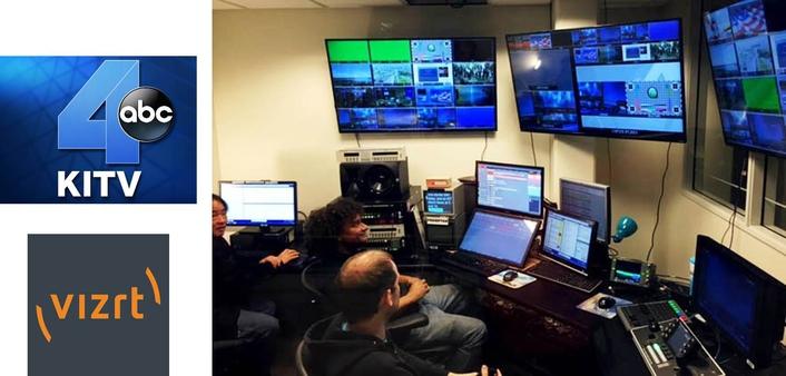 Hawaii's KITV replaces control room & production switcher with Vizrt's Viz Opus automated news platform