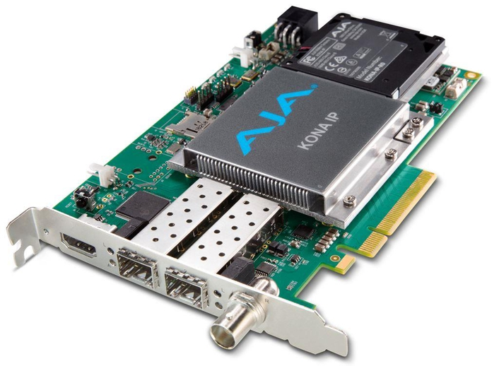 AJA Expands IP-Based Workflow Technologies at IBC 2016 Announces IPR-1G-HDMI and IPR-1G-SDI Mini-Converters; Introduces SMPTE-2022-7 Support for KONA IP with v12.5 Desktop Software