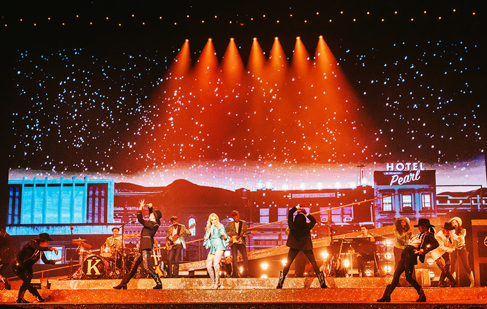 disguise pro range shines on Kylie Minogue's 'Golden Tour'