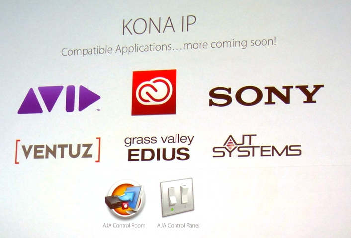 KONA IP Offers Path to Professional Video and Audio I/O for IP-Based Workflows