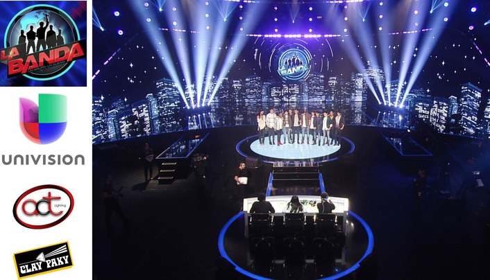 """Clay Paky Lights Up the Competition on """"La Banda"""""""