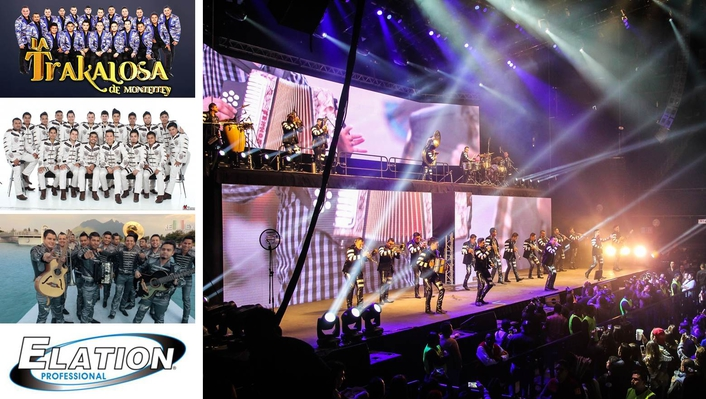 Mexico's La Trakalosa Ups Their Production with Elation's Powerful Platinum BX™