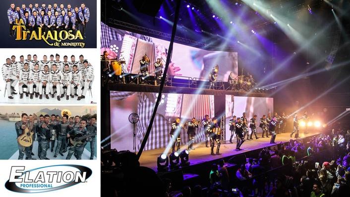 Mexico's La Trakalosa Ups Their Production with Elation's Powerful Platinum BX™