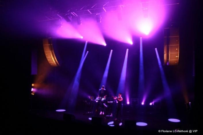Le VIP's diverse music repertoire reinforced with L-Acoustics