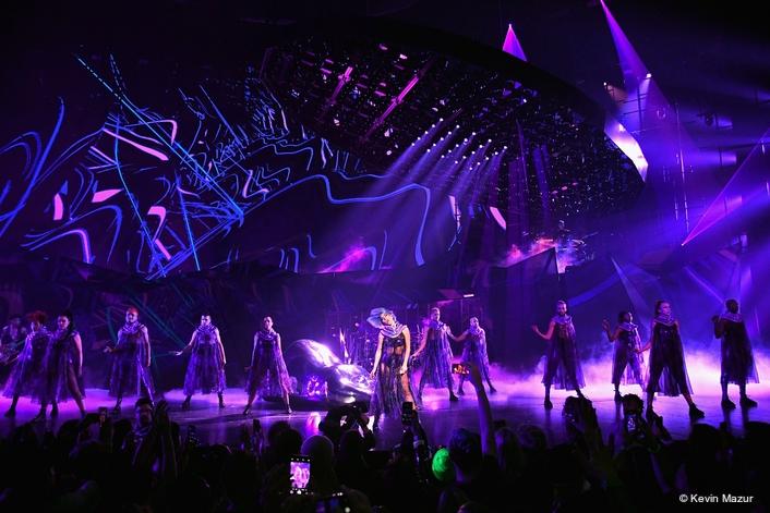 LeRoy Bennett uses Elation DARTZ™ on Lady Gaga Enigma Vegas Residency