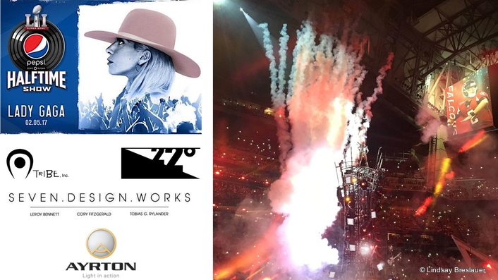 Ayrton helps Lady Gaga bring warmth to the Pepsi Zero Sugar  Super Bowl LI Halftime Show