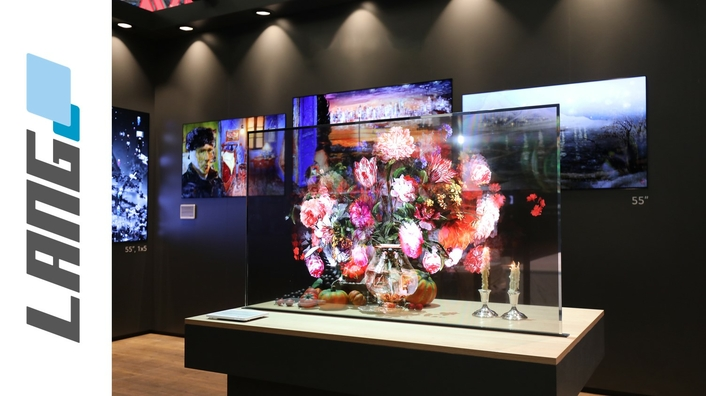 Revolution of tailor-made transparent OLED products