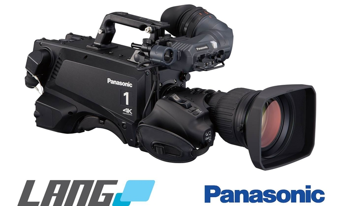 LANG AG relies on Panasonic's AK-UC3000 4K studio camera