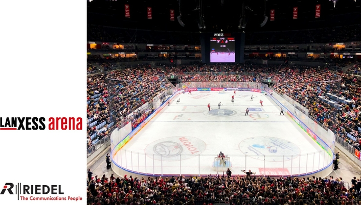 Expanded Riedel Intercoms Take to the Ice at Lanxess Arena