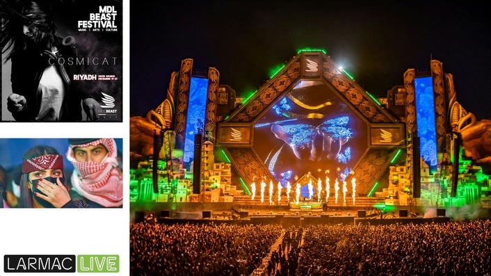 LarMac LIVE delivers Saudi Arabia's biggest ever EDM festival