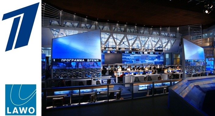 Cutting-Edge Lawo Audio at Russia's Premier TV Channel