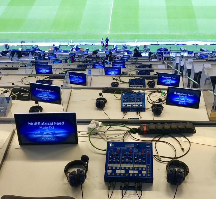Gearhouse Broadcast delivers TOCs and commentary infrastructure to UEFA for key European finals