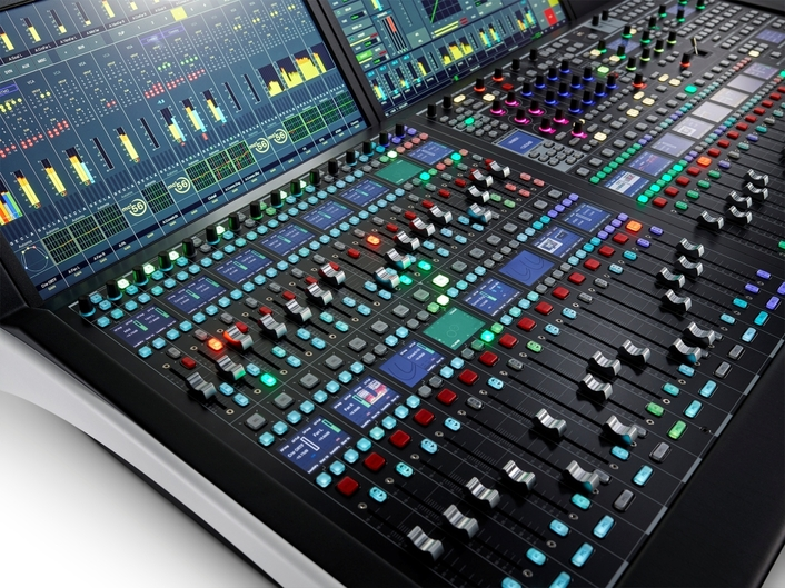 Big Fader Count, Small Footprint: Third-Generation  Lawo mc²56 Production Console Intros Dual Fader Bay