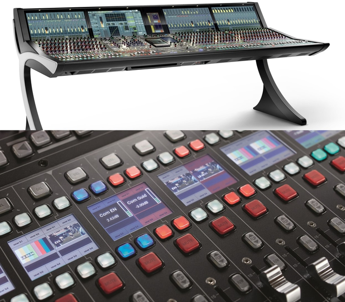 Lawo mc²96 Grand Production Console winner of IABM Award / Awards Ceremony held during IBC