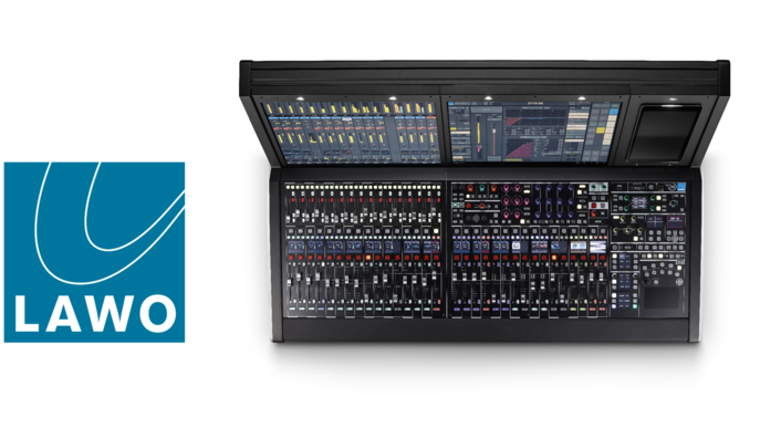Big Performance, Compact Size:  Lawo Introduces mc²36 in a 48-Fader Layout