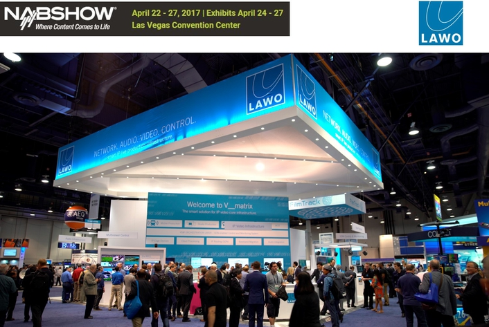 Lawo @ NAB Show 2017 with Launch of new Console