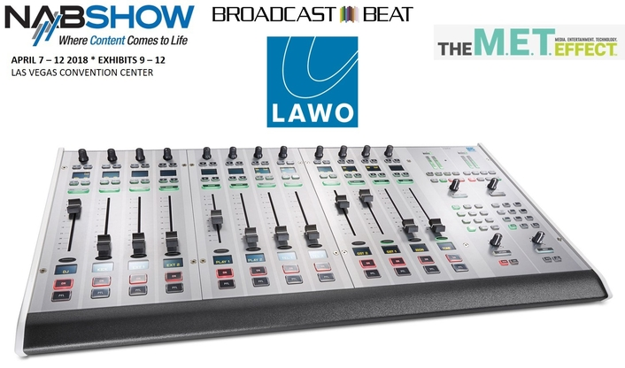 Lawo Partners With Broadcast Beat For NAB Podcast Studio