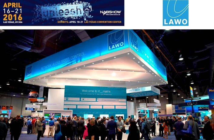 Lawo's V__matrix and RƎLAY win Best of Show Awards at NAB 2016