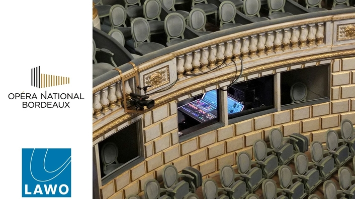 Opéra National de Bordeaux Installs mc²36 Console and Lawo A__line stageboxes in its Grand Théâtre