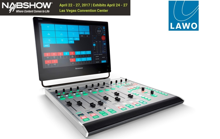 "Lawo Introduces Ruby ""Visual Radio Console"" at NAB2017"