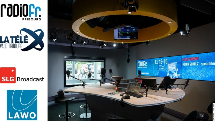 "RadioFr And TV ""La Télé"", SLG Build First All-IP Media House In Switzerland With Lawo"