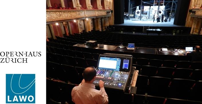 Zurich Opera House modernizes with Lawo IP audio consoles